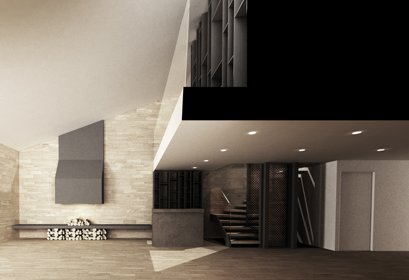 Interior Architecture | Design | 3D Perspective | Rendering | Reception