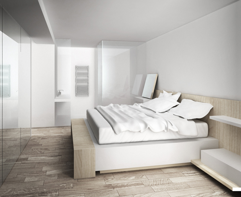 Interior Architecture | Design | 3D Perspective | Rendering | Master Bedroom