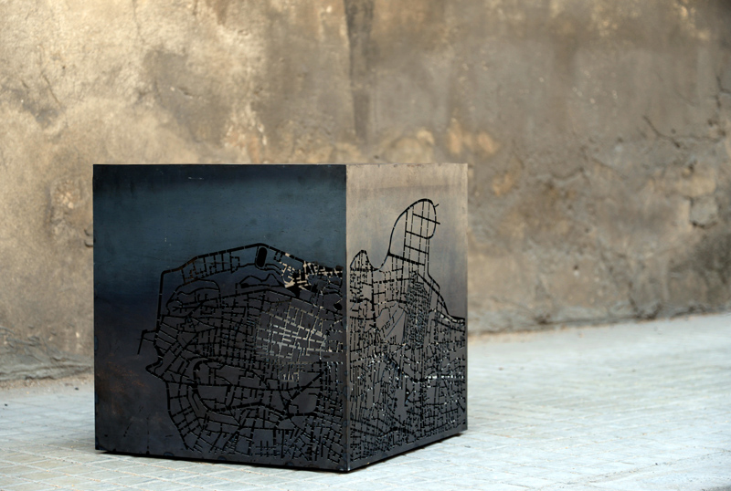 Beirut | Cube | Map | Lighting | Side Table