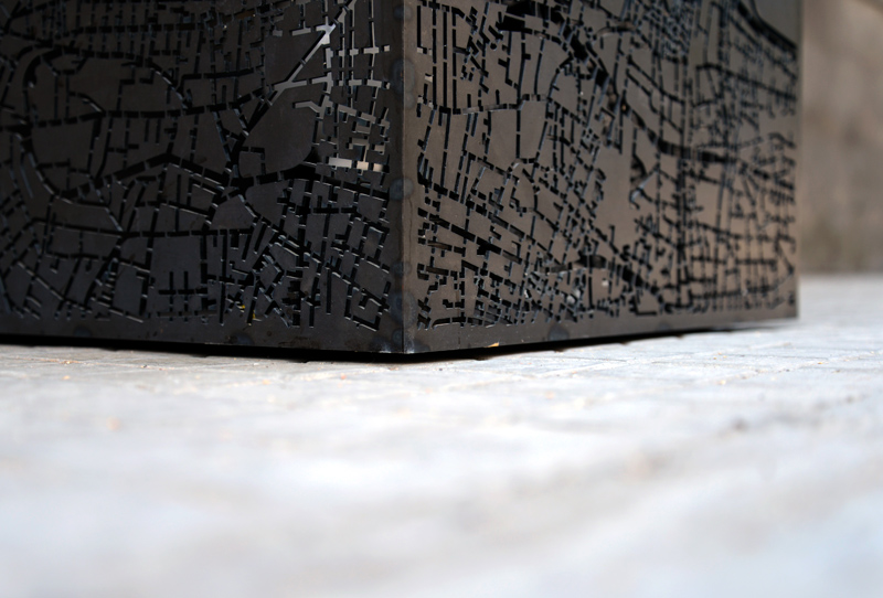 Beirut | Cube | Map | Lighting | Side Table | Detail